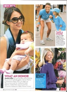 OK! Magazine, Jessica Alba and Honor