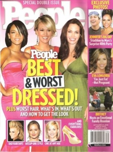 People Magazine & Baby Swags