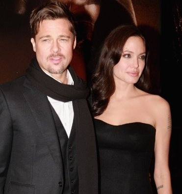 "Angelina Jolie and Brad Pitt Premiere ""Changeling"" at the New York Film Festival"