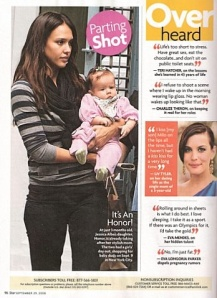 Star Magazine & Baby Swags & Jessica Alba & Honor