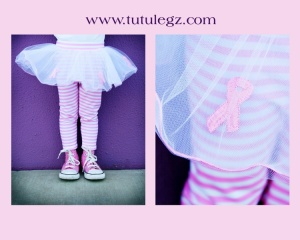Tutulegz - Pink Ribbon design