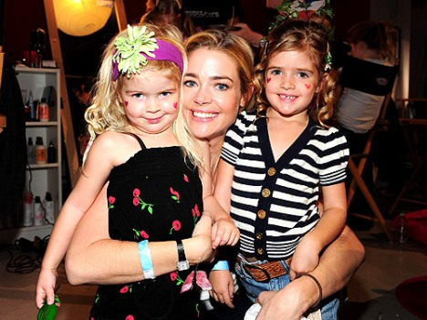 Denise Richards with daughters Lola Rose and Sam