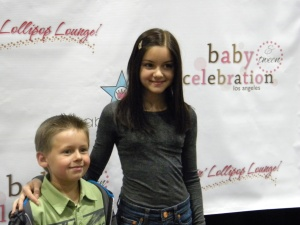 Ariel Winter and Jackson Brundage at the Rockin Lollipop Lounge