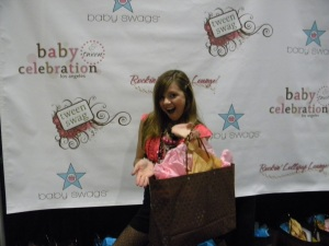 Aria Wallace at the Rockin Lollipop Lounge hosted by Baby Swags