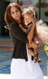 Halle Berry's Nahla wears Creative Clips by Colleen