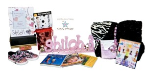 Shiloah 3rd Birthday Basket Photo