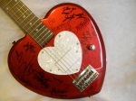signed daisy rock guitar